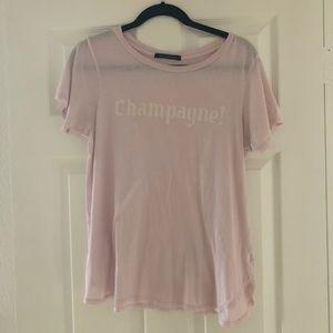 Wildfox Pink Shirt Sz. L